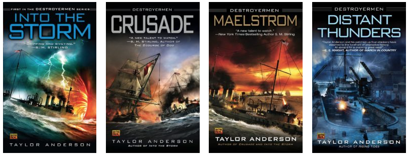 Destroyermen Books 1 - 4 Bundle